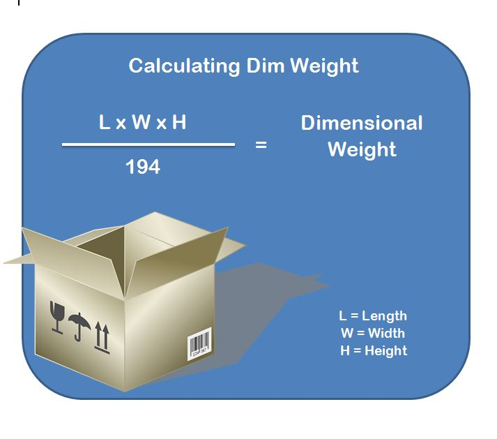 Dim Weight Calculation