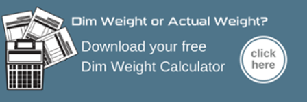 Dim weight calculator