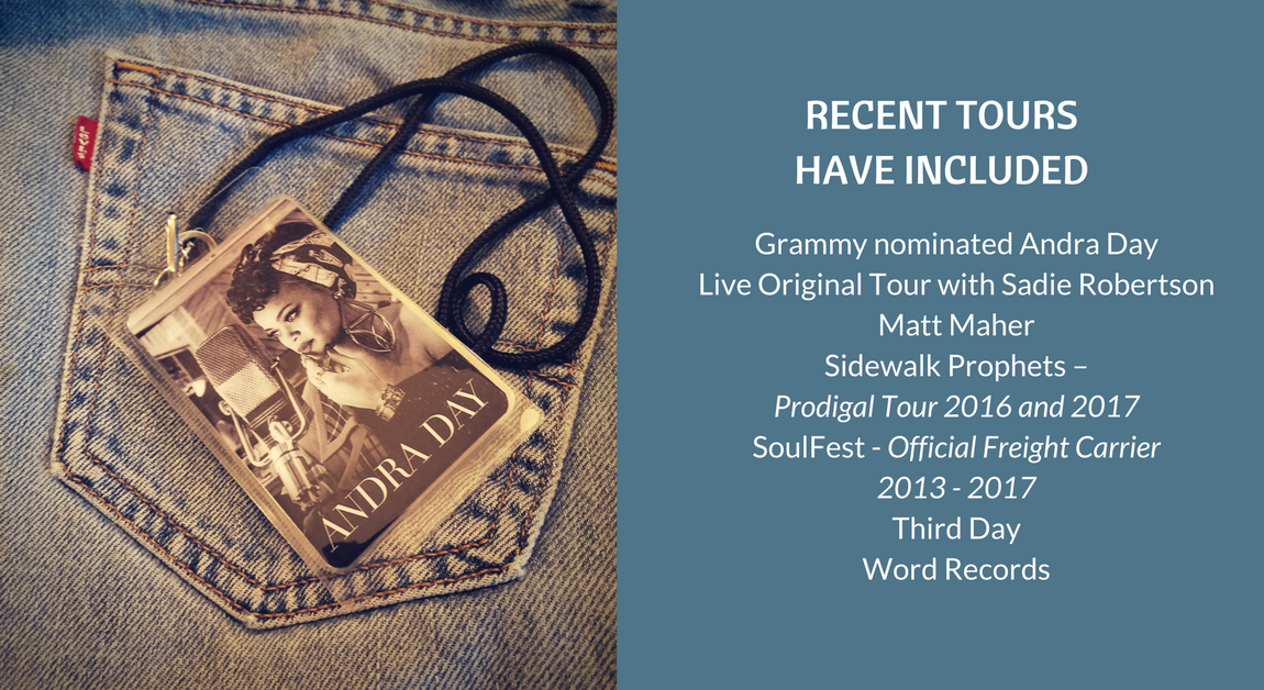 Andra Day Matt Maher Sidewalk Prophets Soulfest Third Day Word Records Sadie Robertson